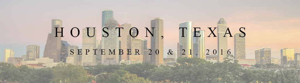 Houston 2016 Workshops