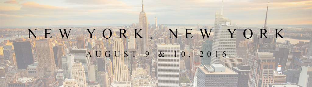 New York 2016 Workshops